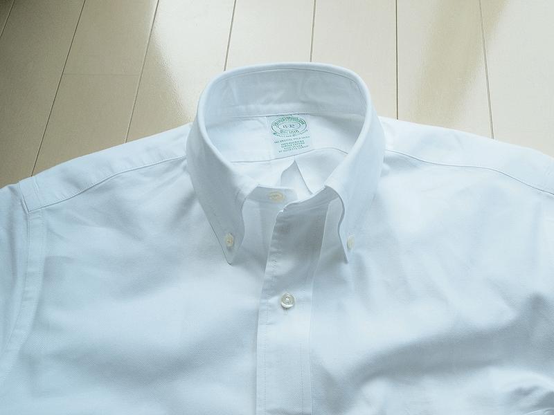 オンオフ兼用②ブルックスブラザーズボタンダウンシャツ