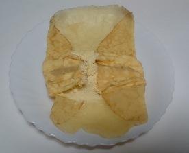 パンプキンの手巻きクレープ02