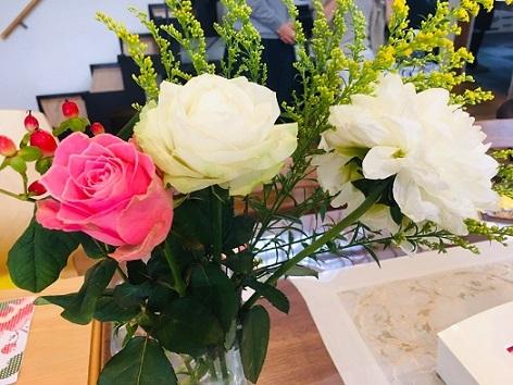 魅力開花お花