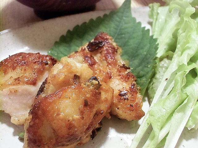鶏の香り焼き