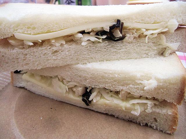 キャベツのサンドイッチ完成