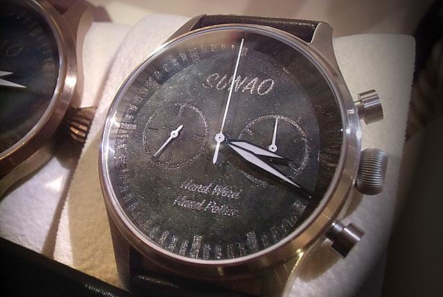 SUNAOの時計