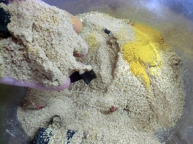米ぬかとウコン