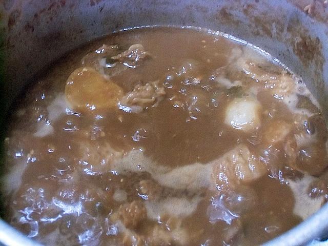 カオスな鍋