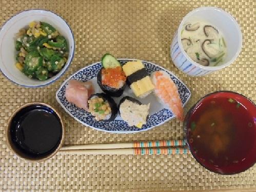 20160526 成増 今月のお寿司1