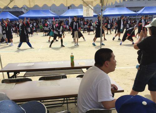 20161011 希望天白養護学校運動会1