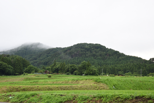 福島県須賀川市付近