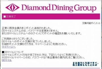 ダイヤモンドダイニング 優待サイト06 201602