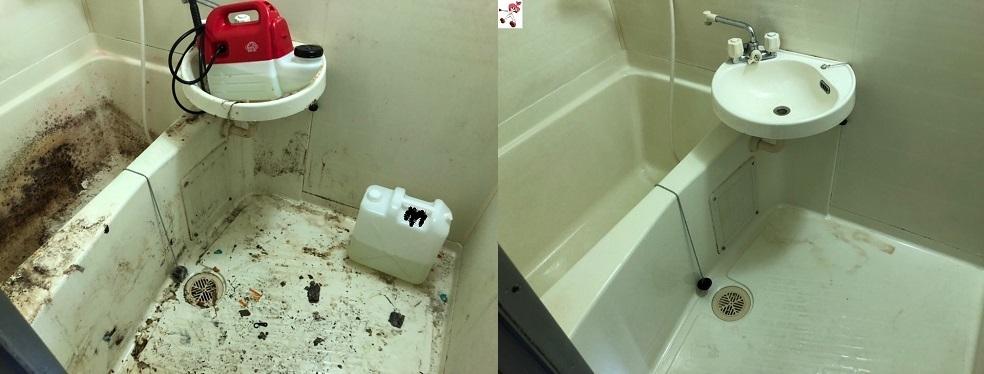 ゴミ屋敷 浴室
