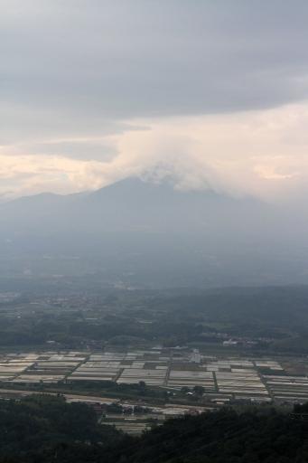 安田要害山城から見た大山