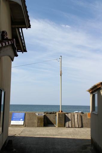 静間の海岸