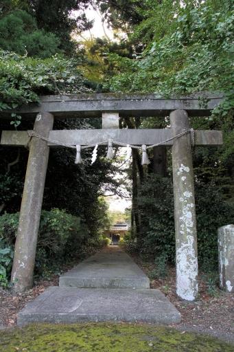 中山神社参道