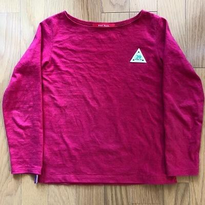 PTL ボートネックTシャツ