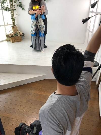 写真スタジオ撮影