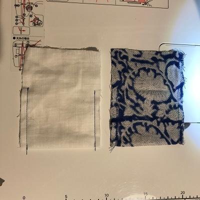 巾着縫い方①