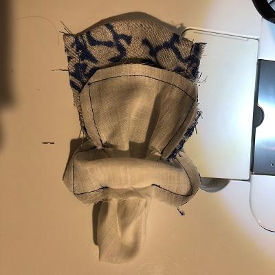巾着縫い方⑧