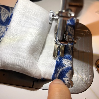 巾着縫い方⑫