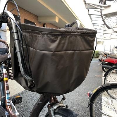 自転車かごカバー