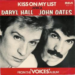 Daryl Hall John Oates - Kiss On My List1