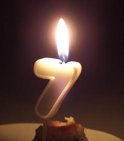 7歳 誕生日