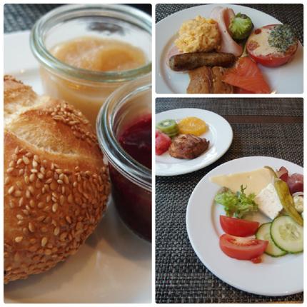 朝食 ドイツ ホテル メリディアン