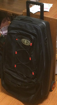 ダイビングスーツケース