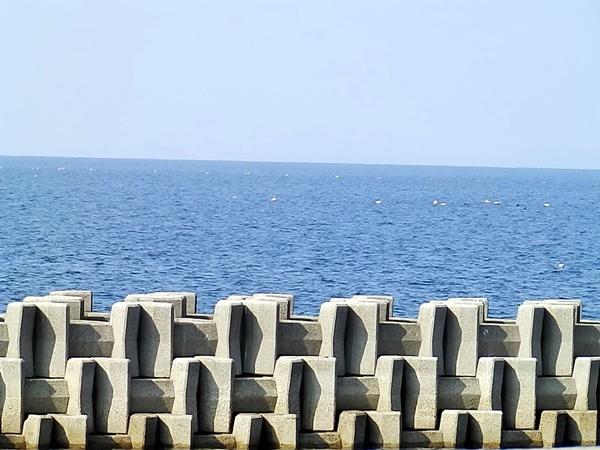 海も穏やか