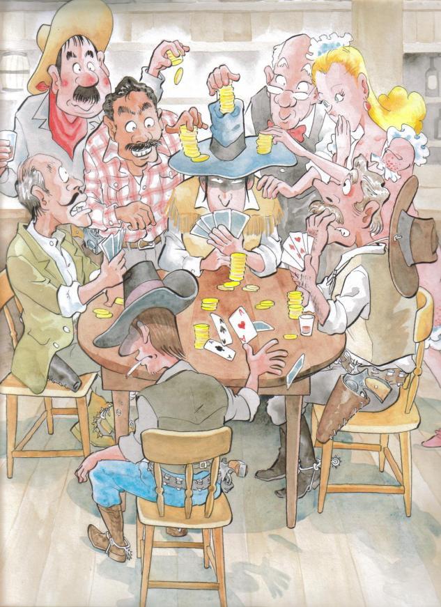 ポーカーフェイスも台無し!(f633)