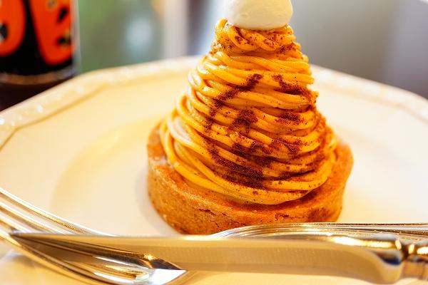 【ショコラティエマサール】かぼちゃのモンブラン