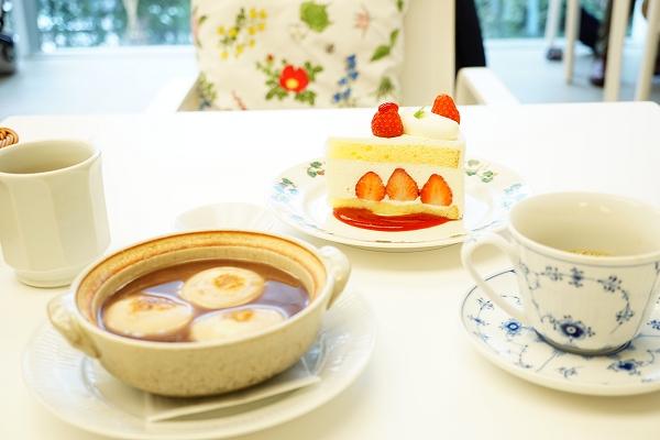 【六花亭】ショートケーキ・土鍋ぜんざい【初詣】