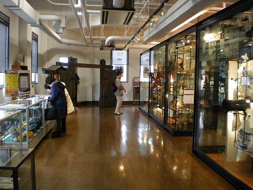 横浜税関・展示室