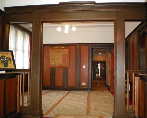 田戸台分庁舎・玄関