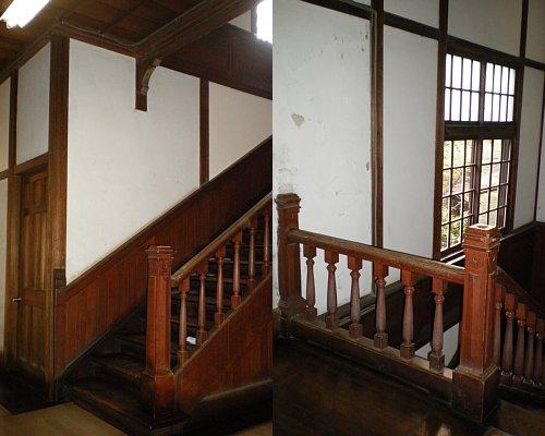 学習院・東別館階段1