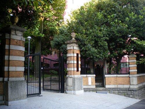 日比谷高校正門