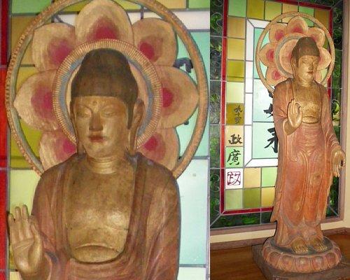 翡翠園・仏像