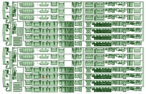 KD26-35 2600系床下機器タイプ1 2セット【武蔵模型工房 Nゲージ 鉄道模型】