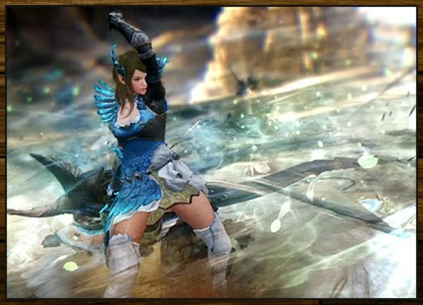 基本プレイ無料のノンターゲティングアクションRPG『黒い砂漠』 5月25日よりレンジャーに「精霊剣」が装備できるようになるアップデート「カーマスリビアの加護」を実施するよ~