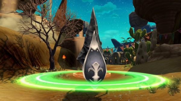 基本プレイ無料の人気ファンタジーRPG『星界神話』 100人対100人の大型対人戦「デザートアリーナ」を実装したよ~