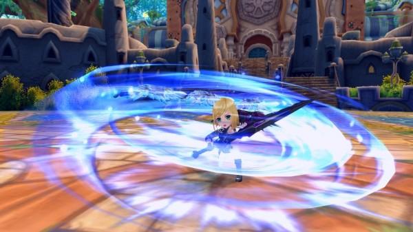 基本プレイ無料のクロスジョブファンタジーRPG『星界神話』 人気アニメとのコラボが決定したよ~!!蒼炎のダブルトリガー「星霊・アイフロート」も登場~♬