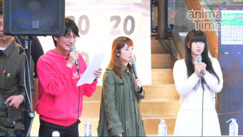 五十嵐裕美さん、村川梨衣さんによる「グリモア」マチ★アソビトークショー!