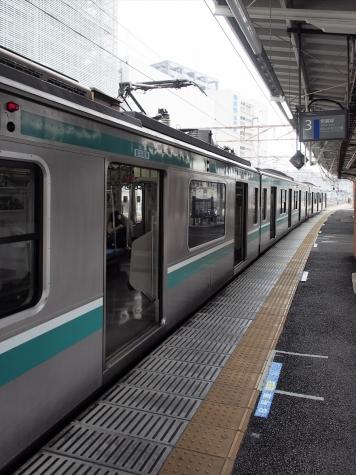JR 常磐線 E501系 電車