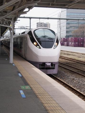 JR常磐線 E657系 特急 ひたち9号