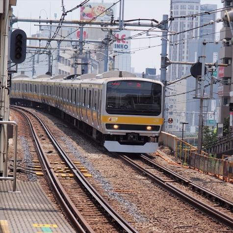 JR 中央・総武線各駅停車 E231系0番台 電車