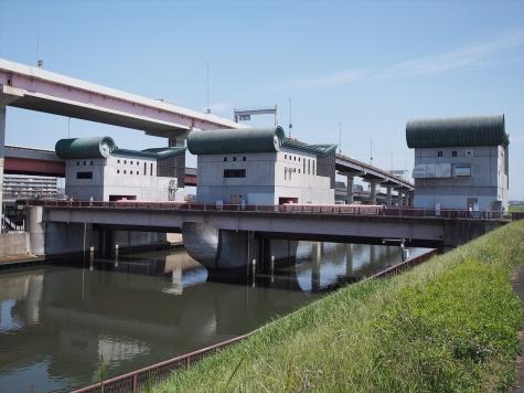 堀切菖蒲水門【綾瀬川】