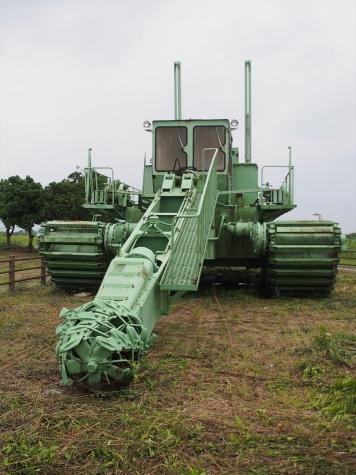 水陸両用 水路浚渫機
