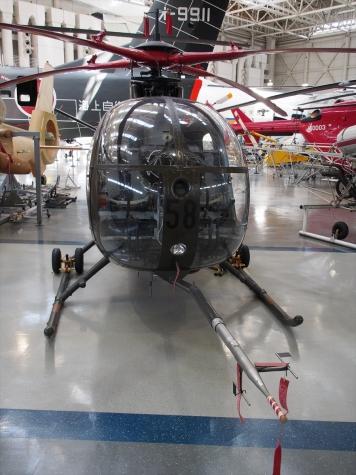 OH-6J ローターシステム実験機