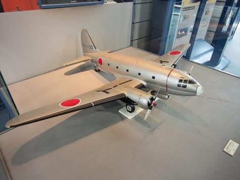 カーチス C-46D FTB 飛行試験機(模型)