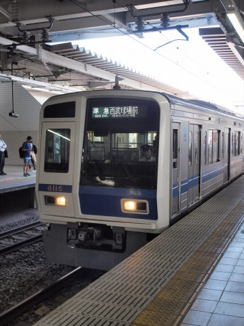 西武鉄道 6000系 電車 6116F
