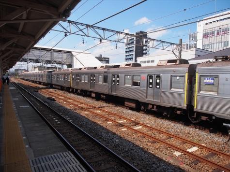 東急電鉄 田園都市線 8500系 電車