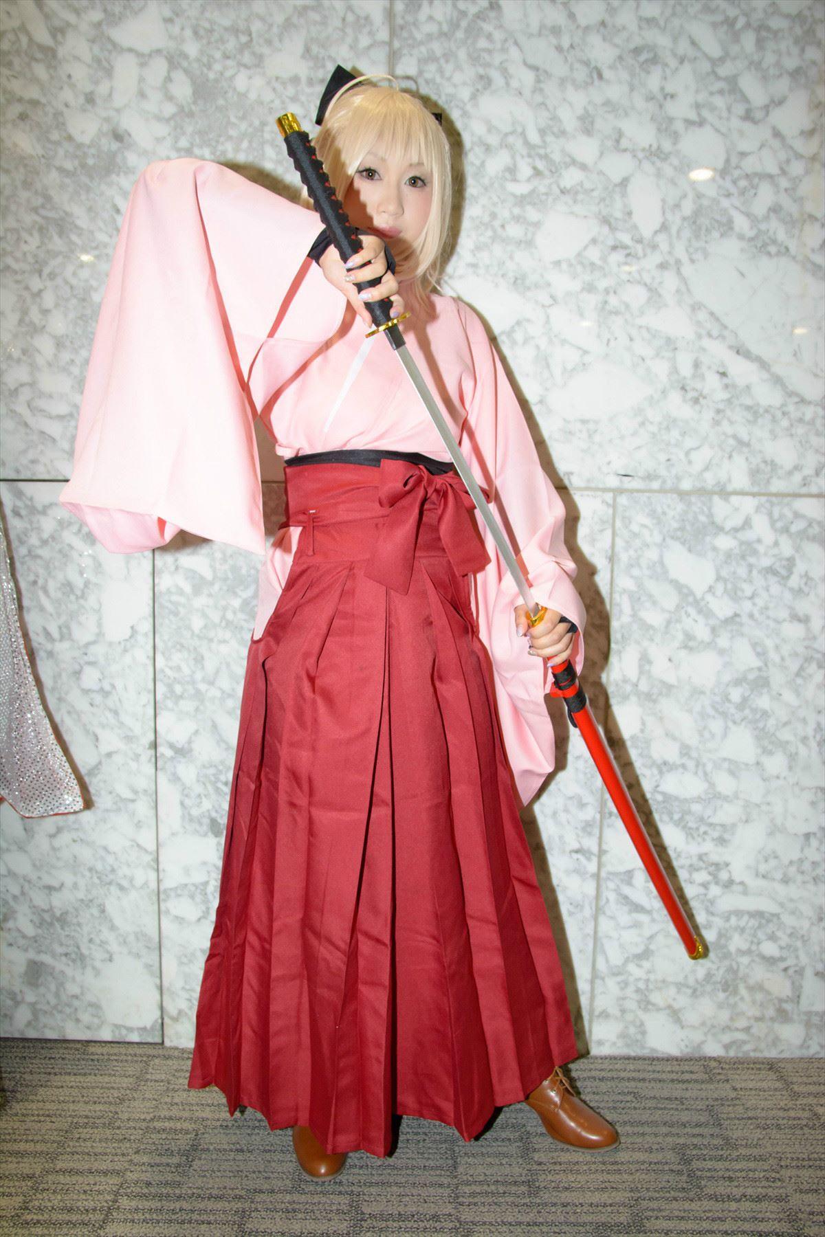 Fate/KOHA-ACE 帝都聖杯奇譚 桜セイバー コスプレ